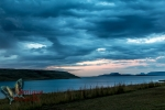 Storm approaching at Strekfontein dam, Free State, South Africa